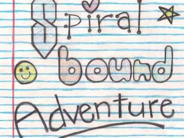 Spiral Bound Adventureis a different sort of actual play podcast