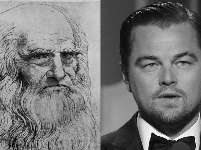 莱昂纳多·迪卡普里奥(Leonardo DiCaprio)在玩杰克·达·奇波瓦(Jack Da Chippewa)瀑布20年后,再次打出达芬奇
