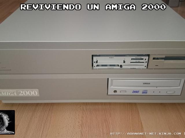 Reviviendo un Amiga 2000