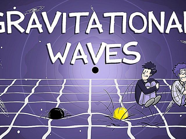 Den enkleste forklaring af gravitationsbølger du vil se