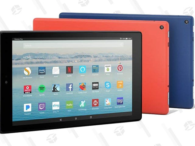 Get Fired Up About the Fire HD 10 at Its Black Friday Price