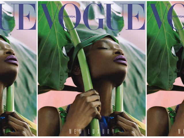 Debra Shaw Gets Her 1st Vogue Cover at 41