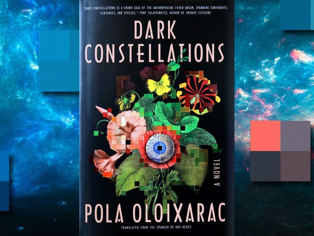 Human and inhuman—and bad sex writing—come together in sci-fi head trip Dark Constellations
