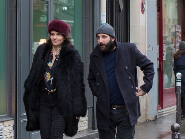 Olivier Assayas tries his hand at the neurotic highbrow gabfest with Non-Fiction