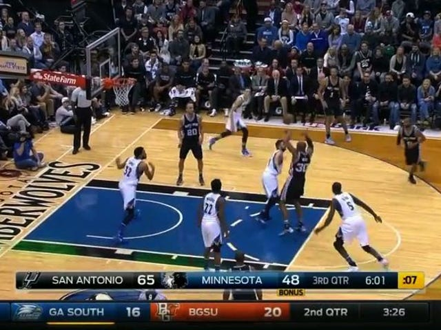 The Spurs' Ball Movement Is Gorgeous