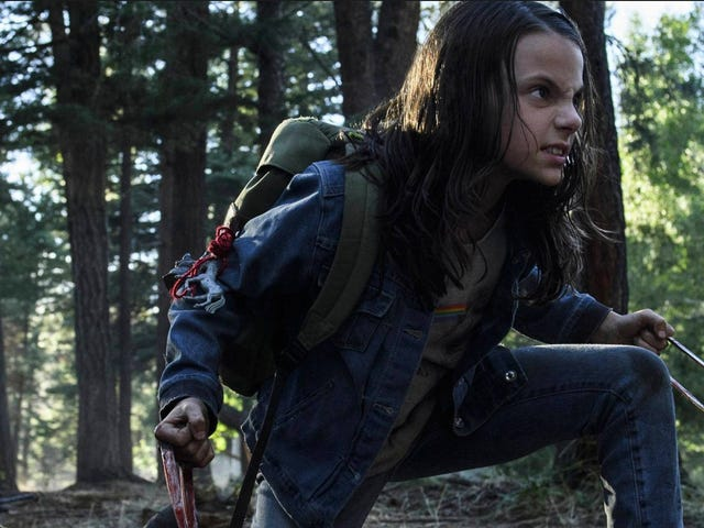 Mira Dafne Keen Dale a Hugh Jackman contusiones en su Super-Intense <i>Logan</i> Audition