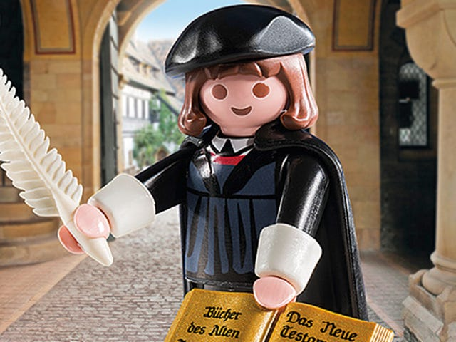 A Playmobil Martin Luther Is Finally Here To Reform the Toy Industry
