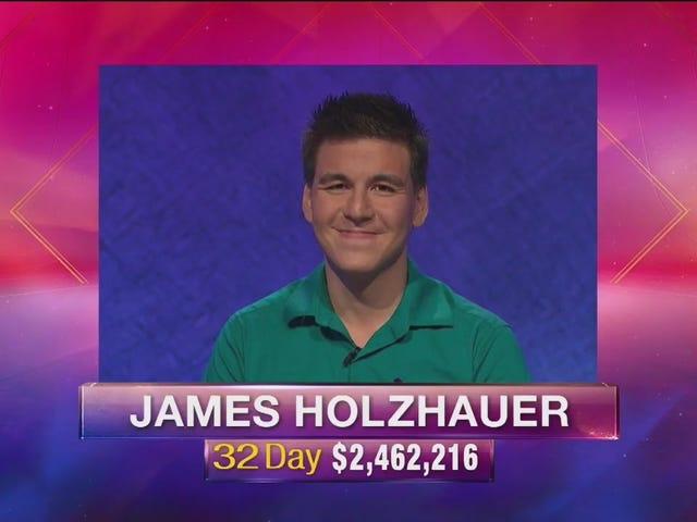 Bagaimana Kejutan James Holzhauer Jeopardy!  Jalankan Akhirnya Berakhir