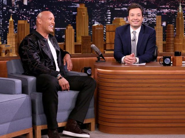 Dwayne Johnson's 2020 presidential campaign may have just begun on The Tonight Show