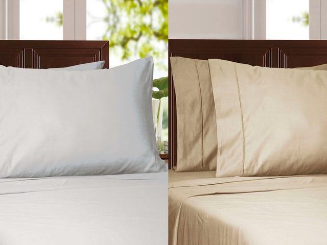 Snuggle Up ในชุดผ้าปูที่นอนฝ้ายอียิปต์ลดวันนี้เท่านั้น