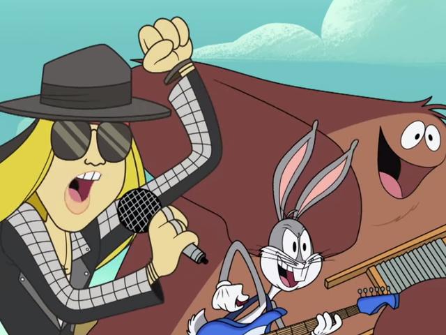 Axl Rose melepaskan lagu barunya yang pertama dalam sedekad-melalui kartun Looney Tunes