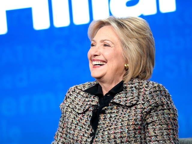 C'est une année électorale, alors préparez-vous pour certains Hillary