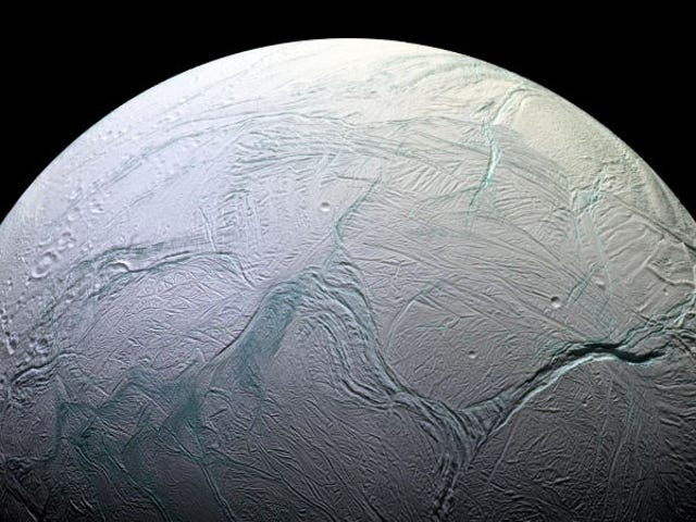 A Wild Origin Story For Saturn's Most Mysterious Moon