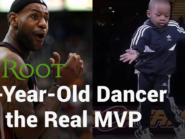 Se: 5-årig stjæler Haletime Show på NBA Game With His Epic Dance Moves