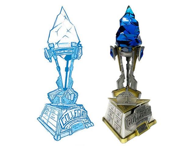 Come è fatto un trofeo di <i>League Of Legends</i>
