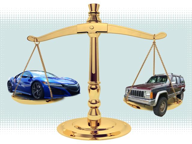 25万マイルのJunkerから15万ドルのAcura NSXへのステップアウトのようなもの