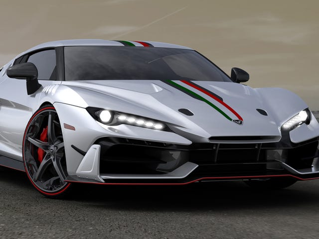 Italdesign Is Making The Car Lamborghini Should Have Built