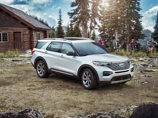 The 2020 Ford Explorer is kind of pricey