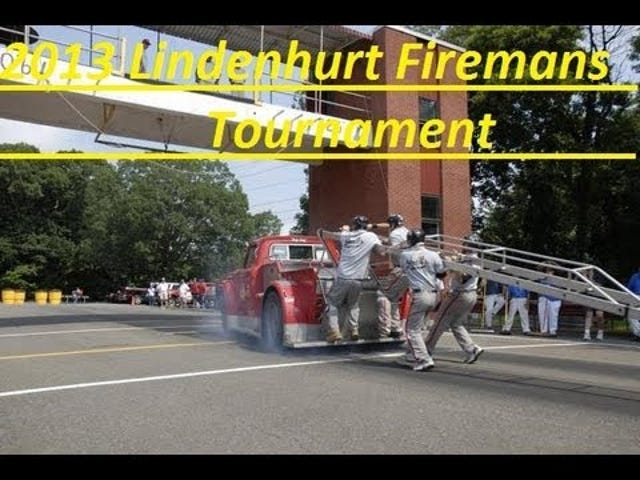 Fireman drag races