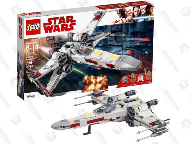 Support The Rebel Alliance With This LEGO $50 Star Wars X-Wing Starfighter