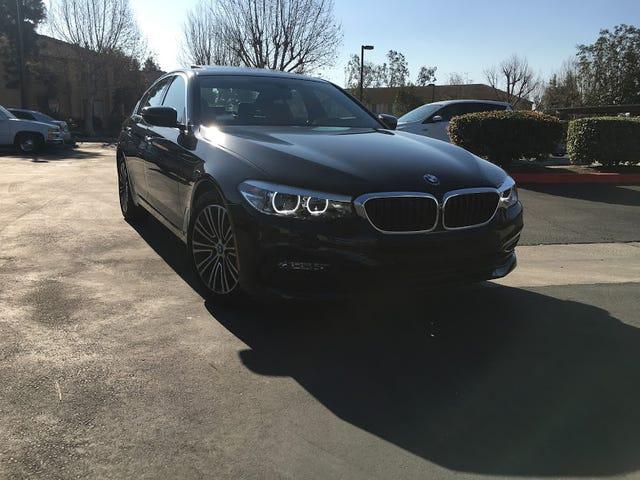 Ho appena avuto una BMW Serie 2018 per una settimana