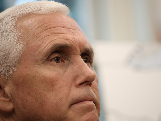 Report: Mike Pence's Gutless Political Stunt At A Colts Game Last Year Was Expensive