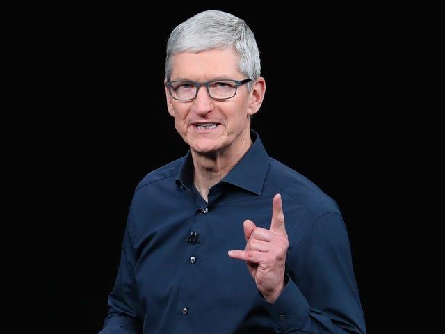 टिम कुक बताते हैं कि क्यों एप्पल ने हांगकांग के प्रोटेस्टर्स को बेच दिया, डबल्स डाउन