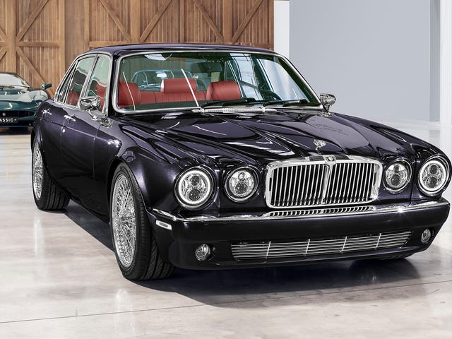 This Heavy Metal Jaguar XJ6 Is At The End Of Your Quest For Fire