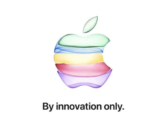 Hvad man kan forvente af Apples store 2019 iPhone-begivenhed