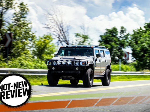 The Hummer H2 Is A Grand And Opulent Bad Idea