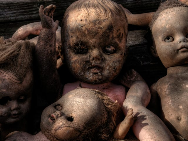 World's scariest doll discovered by woman who wrongly insists it's not scary