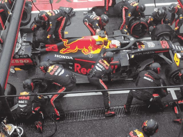 Red Bull Broke the Fastest F1 Pit Stop Record for the Second Race in a Row