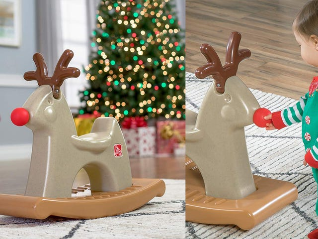 Rudolph the Rocking Reindeer Has a Very Squeaky Nose