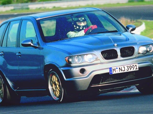 จำได้ไหมว่าเมื่อ BMW ใส่แข่งรถ Le Mans V12 ใน An X5?