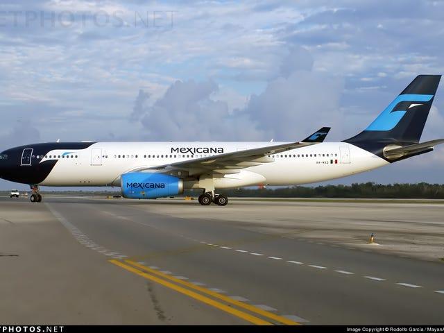 Could revive: Mexicana de Aviación