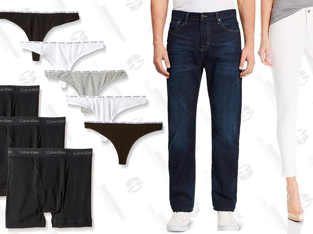 Grab Up to 30% Off Calvin Klein Jeans and Underwear