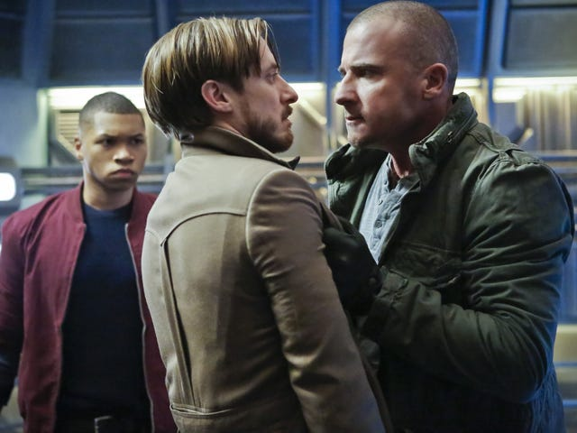 Legends of Tomorrow 1x08: Space Cowboys