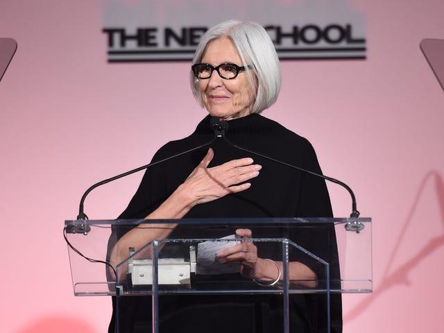 Eileen Fisher er ikke helt sikker på, når Fashion Week var