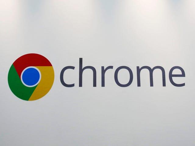 Google tester en Play / Pause-knap til lyd og video på Chrome Toolbar