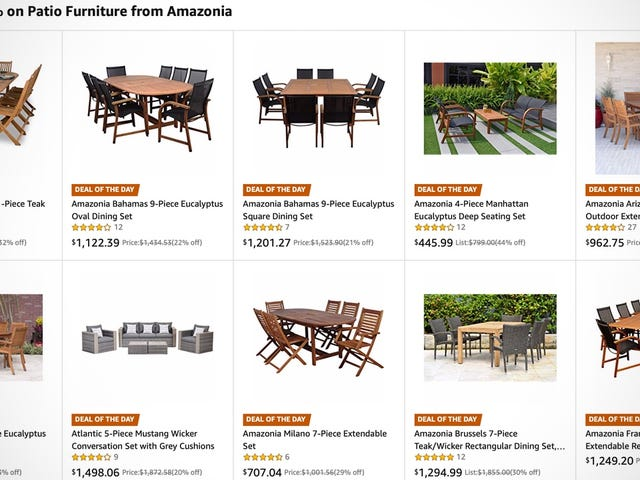 Kick Off Summer With a Discounted Outdoor Patio Set, Today Only