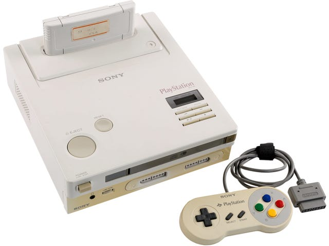 """Bidding has begun on the """"Nintendo Play Station"""" prototype at Heritage Auctions"""