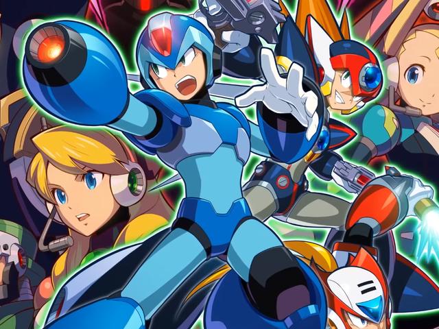 Capcom Ditches Guns N' Roses Boss Names For Mega Man X Collection