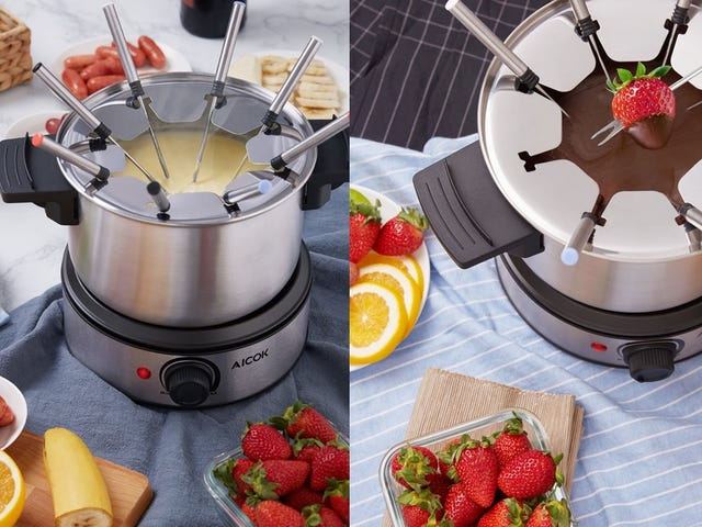 Host a Fondue Night For $28, Cheese and Chocolate Not Included