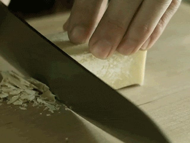 En regardant cette vidéo d'un chef cuisiner, mes sens ont été massés de plaisir