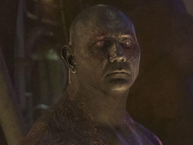 Dave Bautista <i>Guardians of the Galaxy Vol. 3</i>  <i>Guardians of the Galaxy Vol. 3</i> James Gunn'ın Komut Dosyası Olmadan