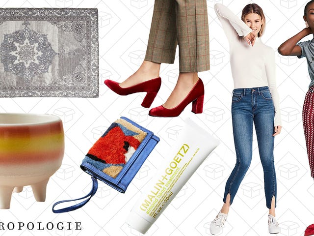 You're Gonna Want to Dig Through Anthropologie's Extra 25% OffSale Section