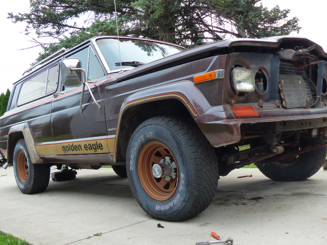 How I've Been Saving Money On My 1979 Jeep Cherokee Golden Eagle Project