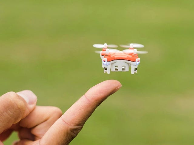 Look At This Adorable Baby Drone And Be Sad No More