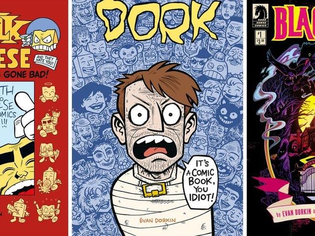 Milk & Cheese Creator Evan Dorkin Talks About HisWeird, Brilliant Career in Comics