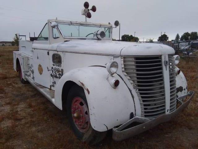 Found on Montana Craigslist: Colorado V12 Firetruck Edition